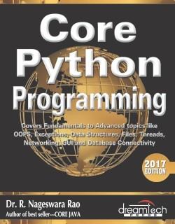Core python programming nageswara rao free pdf download